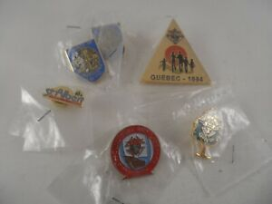 """KNIGHTS OF COLUMBUS LAPEL PIN LOT Includes  """"C de C"""" French Emblem of the Order"""