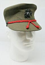 Bernard Co. Steingass Women's Military Green Service Wool Blend Cap Size 22 1/2