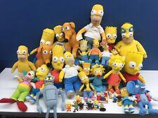 Used VTG & Modern LOT 25 The Simpsons Plush Toy Dolls Bart Homer Marge Lisa