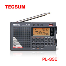 Tecsun PL-330 Radio Receiver FM/MW/SW/LW all band portable radio FM +  Battery