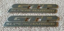 1997-2003 Pontiac Grand Prix GTP Supercharged Door Emblem Badge Logo OEM Pair