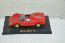 VOITURE  FERRARI 330 P4  1/43 DIE-CAST  TBE CAR BY HACHETTE COLLECTION