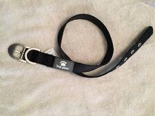 "(L) Top Paw Signature Black Nylon Dog Collar w/ Buckle, Large, 22''-26"", NEW"