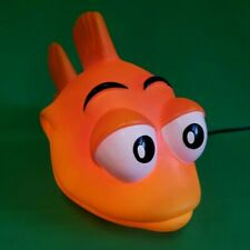Novelty Goldfish Lamp - Unique Fish Table/Desk Lamp - Tested & 100% Working!
