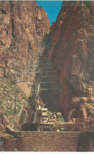 ROYAL GORGE,COLORADO-INCLINE RAILWAY-WORLD'S STEEPEST RAILWAY-(AV3247)