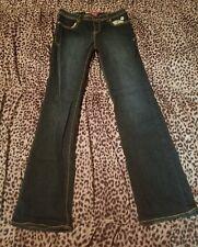 Apple Bottoms Womens Jeans Size 10 Waist = 28 Inseam = 31 Skinny