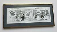 WIZARD OF ID Comic Strip Art Brant Parker Johnny Hart Classcom Framed Desk Art