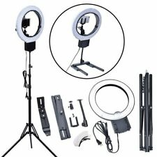 Studio 40W 5400K Diva Ring Lamp Light Stnd Kit for Photo Video Make Up Selfie