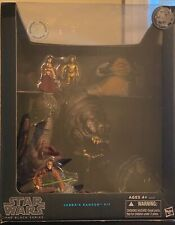 "Star Wars The Black Series: Jabba's Rancor Pit Set 3.75"" NIB Toys R Us Exclusive"