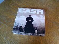 CD  Johnny Cash - American Recordings (Collector's Edition, Metallbox)