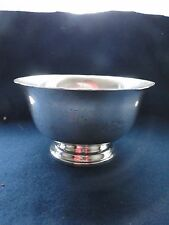PAUL REVERE EXEMPLAR BOWL, STERLING SILVER, MARKED ON THE BASE, 1 OF 68 PIECES