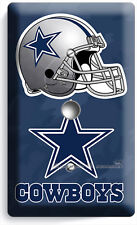 DALLAS COWBOYS FOOTBALL TEAM LOGO LIGHT DIMMER CABLE WALL PLATE COVER ROOM DECOR