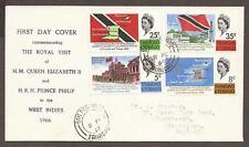 TRINIDAD AND TOBAGO FDC 1966 SG313/316 Royal Visit (JB15250)