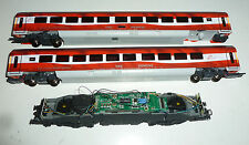 Roco H0  Lok 62366A ohne Gehäuse dig, sound? + 2 Personenwagen ÖBB Siemens