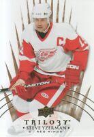 2014-15 Upper Deck Trilogy Hockey #100 Steve Yzerman Detroit Red Wings