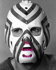 AMAZING #1 KANSAS City SCOUTS Denis HERRON Head / MASK SHOT Custom LAB 8X10 WOW!