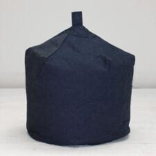 Large Cotton Dark Navy Blue Denim Boys Girls Adult Seat Beanbag Bean Bag Filled