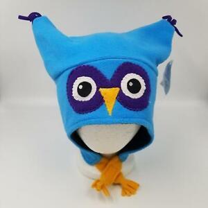 Funky Hats 32 degrees Osfm Owl Blue Childrens Kids Beanie Hat USA Shop32degrees