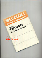 Suzuki TS125-N (1979 >>) Factory Parts List Catalogue Book Manual TS 125 CG45