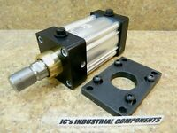 """Parker   3-1/4""""  bore  X  3""""  stroke    pneumatic cylinder    series 4MA"""