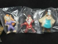 Kellog's Rescue Rangers and Ducktales PVC SEALED TOYS LOT OF 4