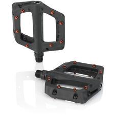 XLC Plattform-Pedal PD-M23 schwarz Fahrrad Pedale rot Fahrrad