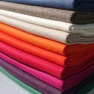 Ultra-Soft 100% Premium Baby Alpaca Luxury Throws - Plain Colours