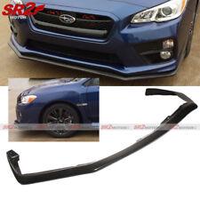 Front Body Kit PU V-Limited Style Bumper Lip Spoiler fit 15-17 Subaru WRX / STI