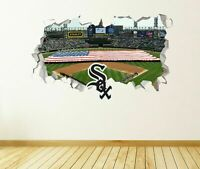 Chicago White Sox Stadium Custom Wall Decals 3D Wall Stickers Art MLB Art JS1581