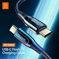 MCDODO PD 100W USB C to USB Type C 5A Fast Charging Cable For Huawei MacBook Pro