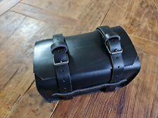 Bmw r 80 g/s bauletto cuoio nero porta attrezzi