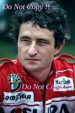 Patrick Depailler Alfa Romeo F1 1980 fotografía de retrato