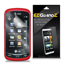 5X EZguardz Screen Protector Shield 5X For LG Xpression C395 (Ultra Clear)