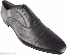 CESARE PACIOTTI US 8 SLEEK TRENDY CALF SKIN LEATHER CAP TOE LOAFERS MENS SHOES