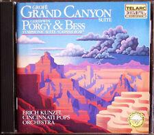Erich KUNZEL: GROFE Grand Canyon GERSHWIN Porgy and Bess TELARC Catfish Row CD