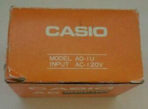 Casio AC Power Adapter Adaptor Model AD-IU Input AC-120V Output DC-7.5V