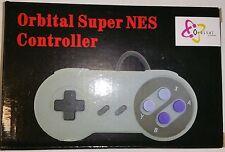 Neuf ORBITAL Manette de jeu manette pour Super Nintendo SNES Système console