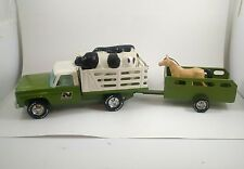 Vintage 1970 Nylint Farm Truck and Trailer