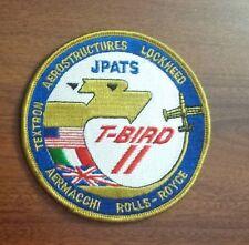 USAF FLIGHT SUIT PATCH, JPATS  T-BIRD II