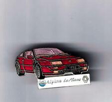 pin's...VOITURE..CAR..RENAULT...ALPINE...LE MANS...DEMONS ET MERVEILLES