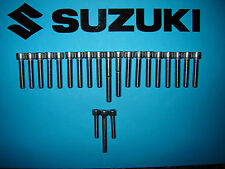 Suzuki DR125 125cc Inoxydable SS Cache Moteur Allen Boulon Fileté Kit