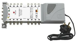 TRIAX New ECO Multiswitch Range - TMS 5 x 16 Satellite Multiswitch