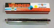 Harmonica Suzuki Winner Tremolo 24 G  W24 W-24 Key of G Japan Brand Japanese