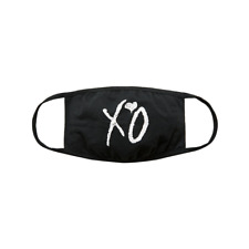 XO FACE MASK LOGO CLOTH FACE COVERING FESTIVAL THE WEEKND  + Free Shipping