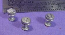 S SCALE Sn3 1/64 WISEMAN MODEL SERVICES DETAIL PARTS: S356  SALOON BAR STOOLS