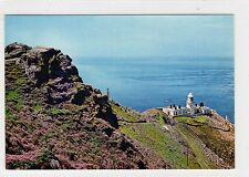 NORTH LIGHTHOUSE, LUNDY ISLAND: Devon postcard (C27507)