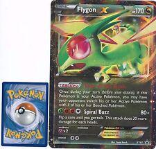 OVERSIZED JUMBO Flygon EX XY61 HOLO FOIL Rare  -XY Black Star Promo- NM- Pokemon