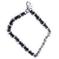 20cm Replacement Metal Chain Leather Wrist Strap F Clutch Wristlet Purse Handbag