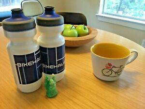 Bikehaus Specialized Purist Water Bottle, Bauhaus art, Watergate Cap, 22 oz