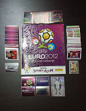 PANINI EURO CUP 2012 - EMPTY ALBUM + COMPLETE STICKERS SET PSS + 1/539 - MINT!